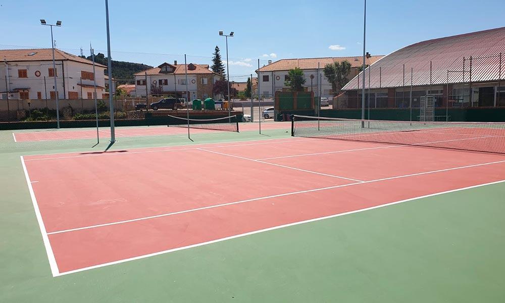 Pista de Tenis, Teruel