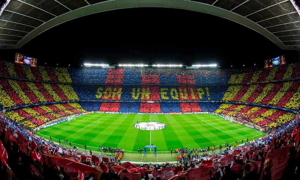¿Cuáles son los estadios de fútbol más grandes de España?