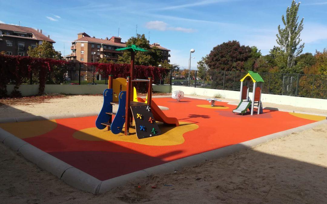 Parque infantil Colegio El Madroño