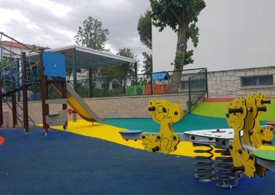 Parque infantil Eurocolegio Casvi