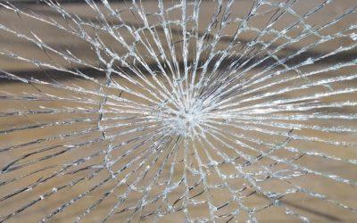 Cristal de las pistas de pádel