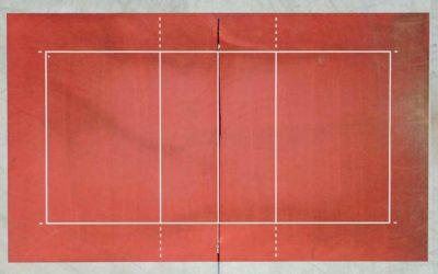 Medidas de una pista de voleibol