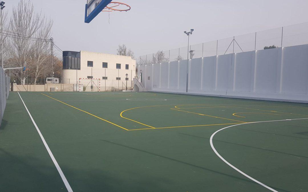 Pista pádel, Polideportiva y frontón  Benimarfull