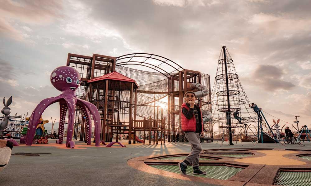 Los mejores pavimentos para parques infantiles