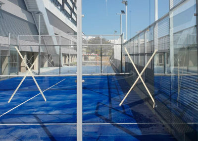 Pista de padel, multideporte y parque infantil Valdebebas