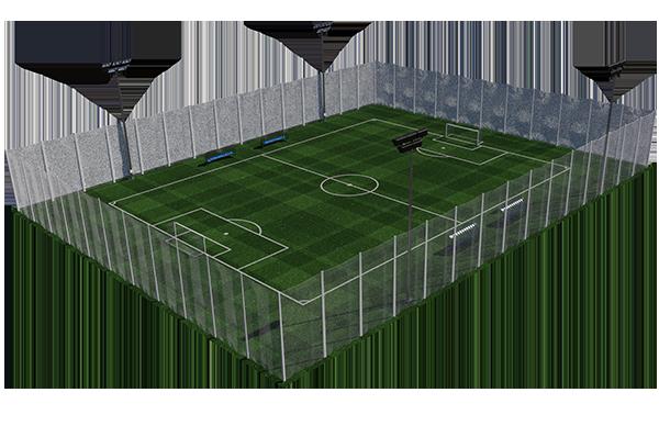 Expertos en la construcción de campos de fútbol