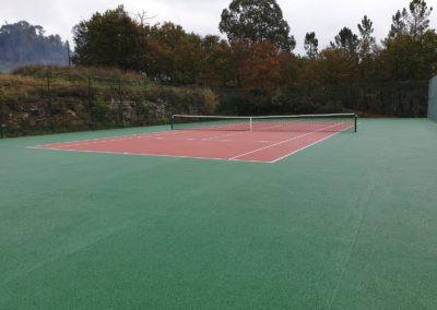 Pista de tenis Porous Paint