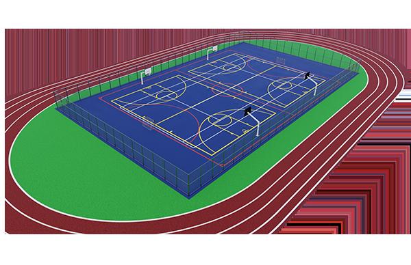 expertos en pistas de atletismo