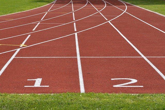 Tartán para pista de atletismo