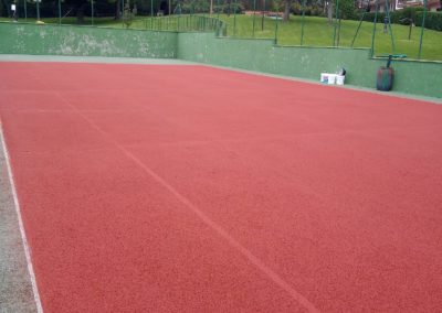 pista de tenis conservacion vallehermoso