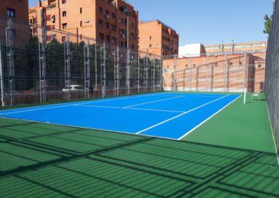 pistas de tenis fundi