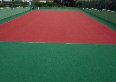 reparacion pista tenis cercedilla