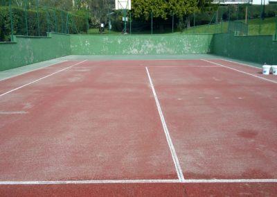 cuidados pista de tenis vallehermoso