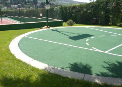 mantenimiento pista baloncesto madrid