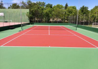 pistas de tenis comunidad de vecinos solano