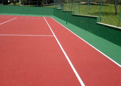 Conservación pista de tenis Cercedilla