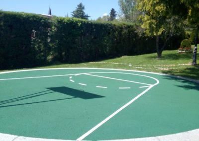 arreglos pista baloncesto cercedilla