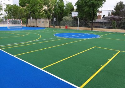 pista polideportiva colegio barcelona