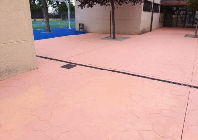 pavimento de colegio barcelona
