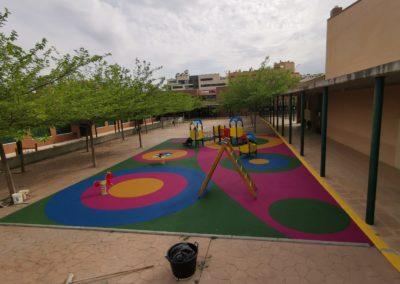 Parque infantil colegio Rodríguez Sahagún