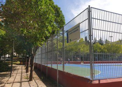pista polideportiva madrid carabanchel parque