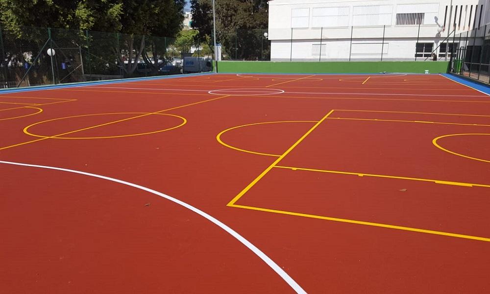 Pintar líneas pistas deportivas