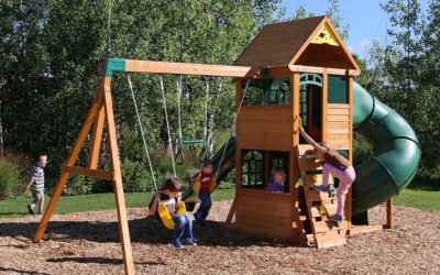 Mantenimiento de parques infantiles de madera