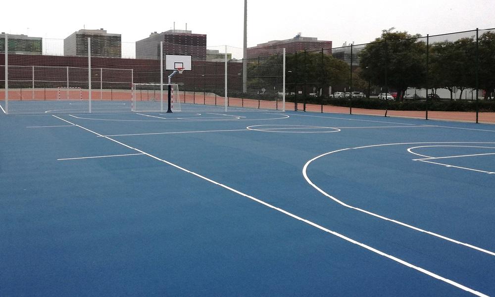 Pavimento baloncesto