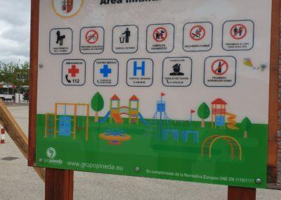 cartel parque tielmes