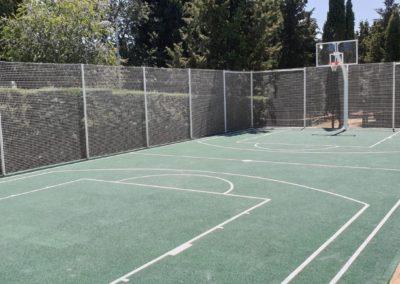 Pista de baloncesto en Somosaguas