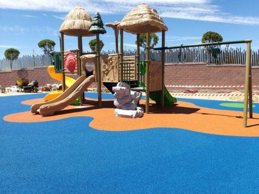 Parque infantil sistema pineda Boadilla