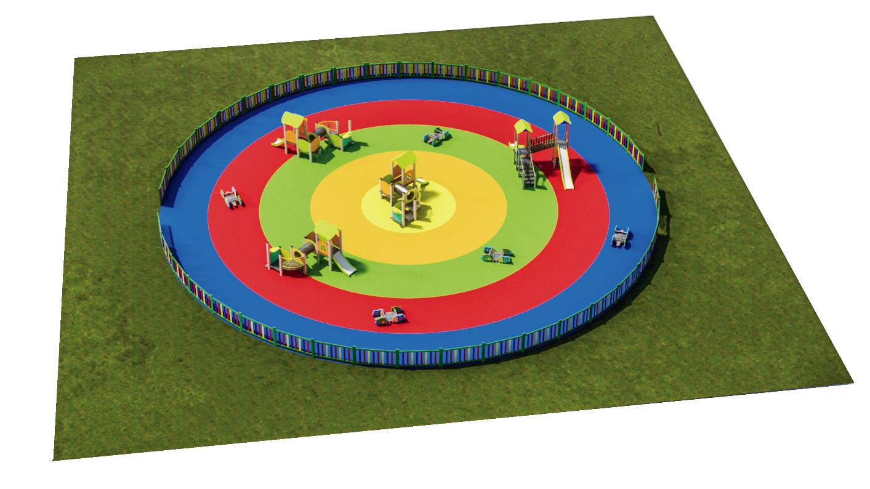 parques infantiles y patios de colegio
