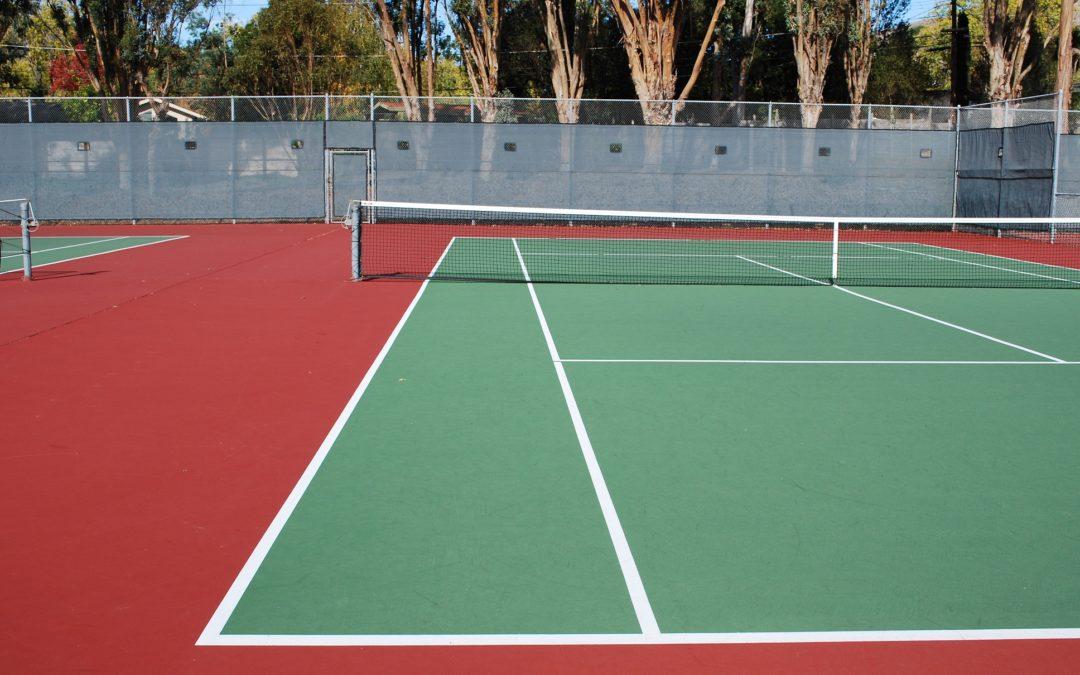 Altura de la red de tenis