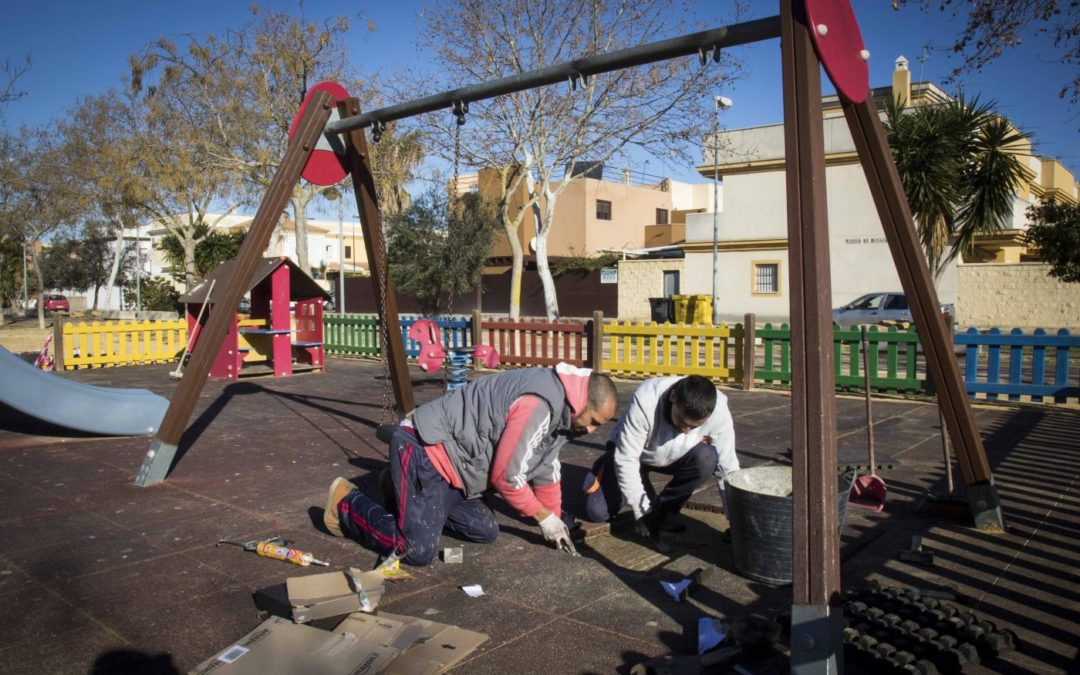 Reparación parques infantiles